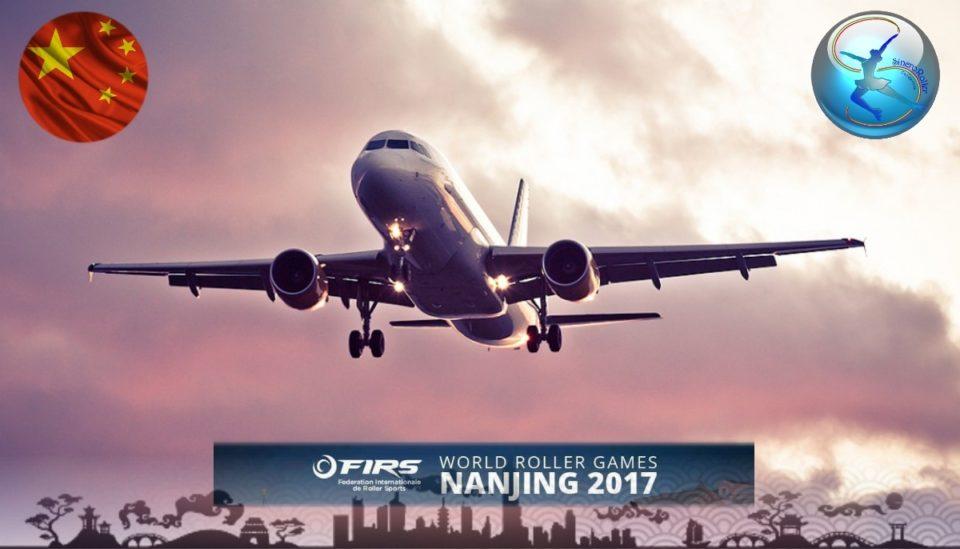 Campionato Mondiale Nanjing 2017 partenza Team Sincro Roller