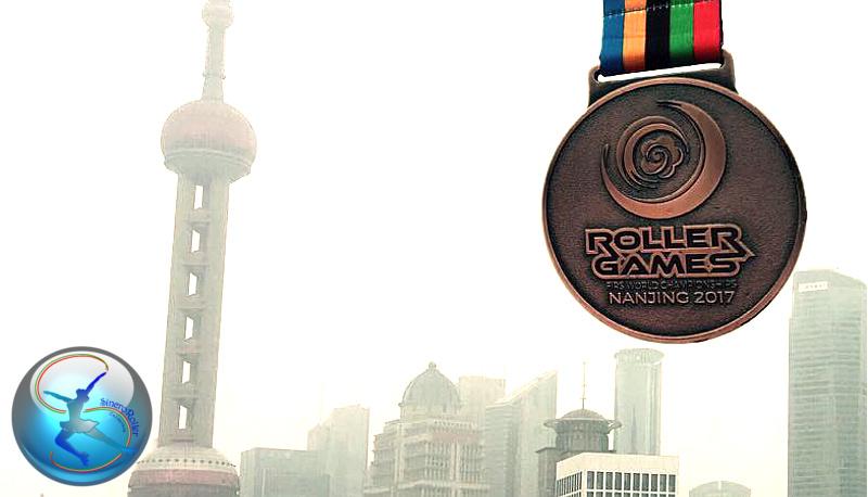 Curiosità Mondiale Nanjing 2017 del Sincro Roller