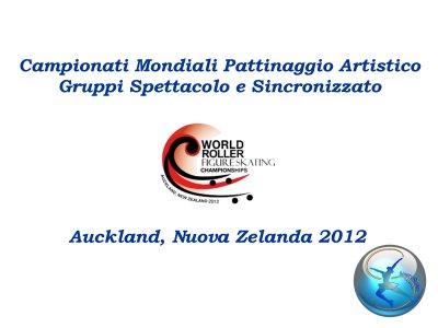 Copertina Auckland 2012