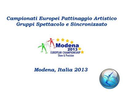 Copertina Modena 2013
